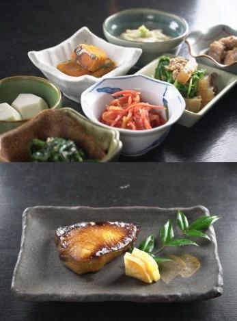 ととや料理一例2種